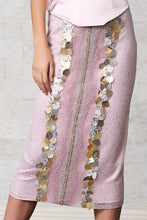 Beaded Skirt & Blouse Set