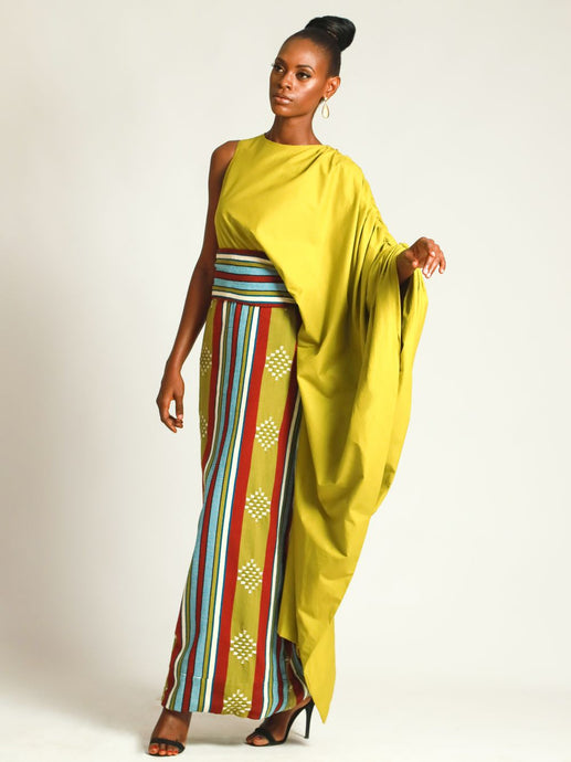 Iko Hand-Woven Gown