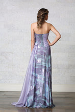 Hand Beaded Evening Gown