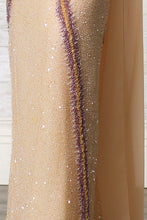 Embroidered Evenning Gown