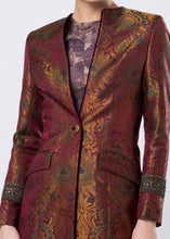 LONG BROCADE JACKET