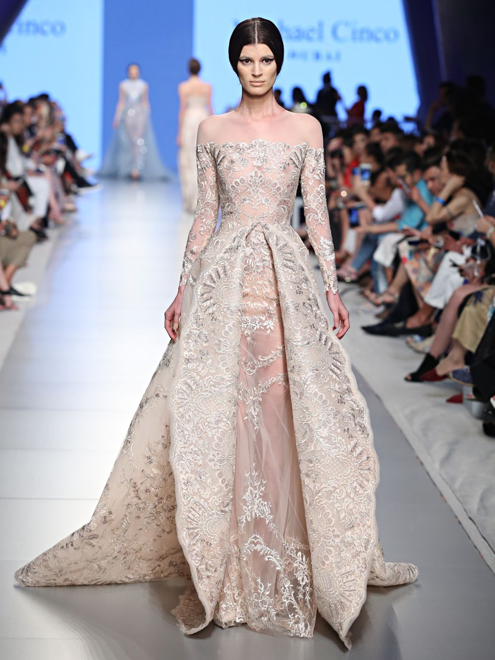 Embroidered Couture Dress