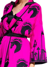 Caftan Dress 'THE WAR OF THE WORLDS'
