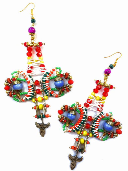 IJELE STATEMENT DROP EARRINGS