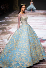 Hand Embellished Princess Couture Dress