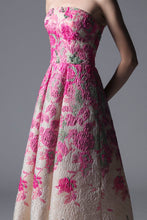 EMBROIDERED BODICE DRESS