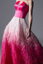 PLUME BALL GOWN