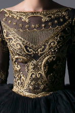 GOLD EMBROIDERED DRESS