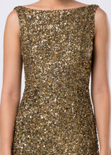 SEQUINED GOWN