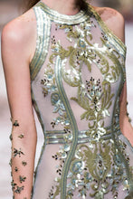 Hand Embellished Couture Gown
