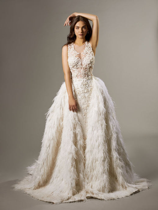 Embellished Mermaid Gown FERULA