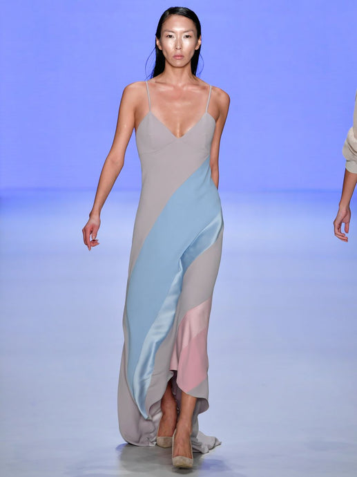 Dress With Pastel Shades