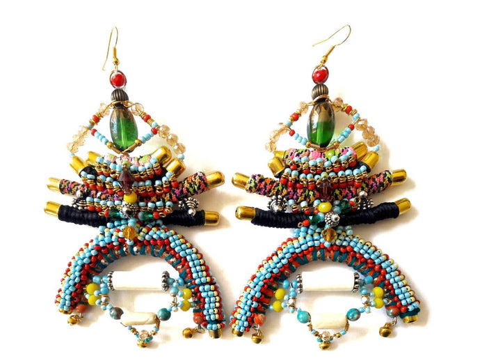ZEHYA BEADED EARRINGS