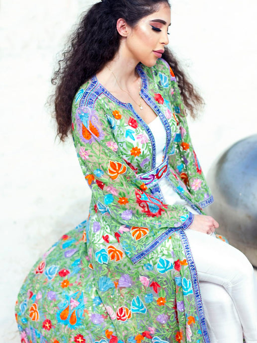 Moroccan Jacket Dress