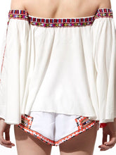 Embroidered Top & Shorts