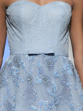 Powder Blue Ball Gown