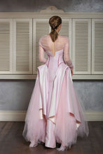 Futuristic Cut Ball Gown