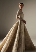 Long-Sleeve Couture Wedding Gown