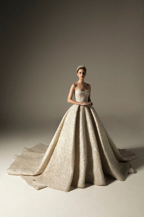 Strapless Couture Wedding Gown