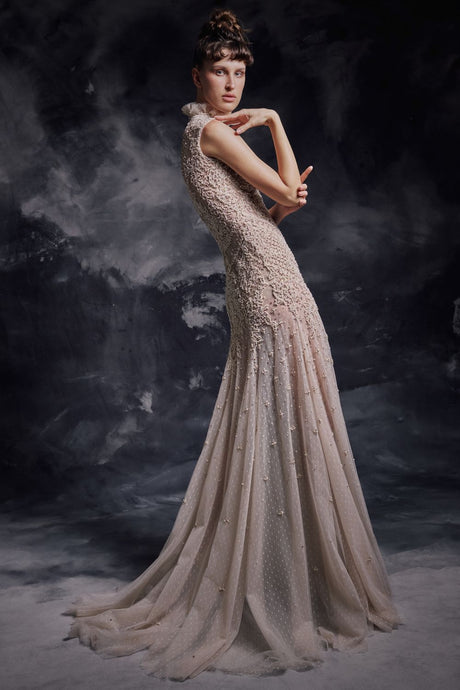 D'esprit Tulle Couture Gown
