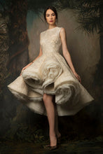 Ivory & Gold Embroidered Couture Dress