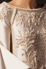 Pearl & Opal Embroidered Couture Dress