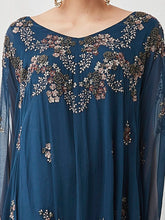 Embroidered Poncho Dress
