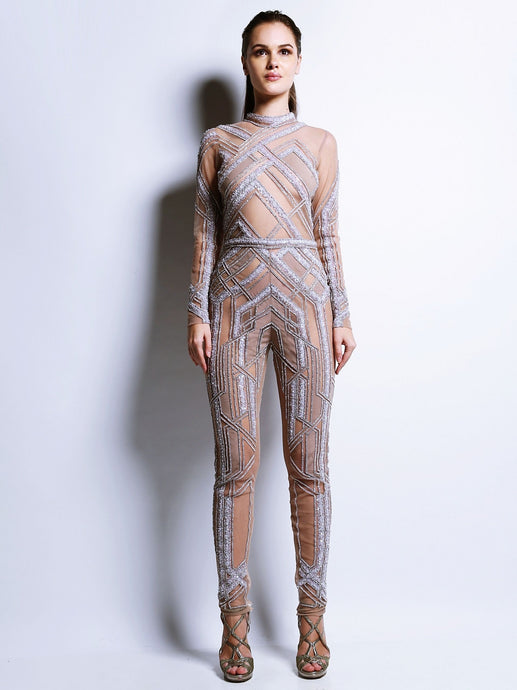 Full Sleeve Jumpsuit Shanaya