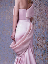 ASYMMETRICAL MERMAID DRESS