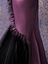 DRAPED CORSET DRESS