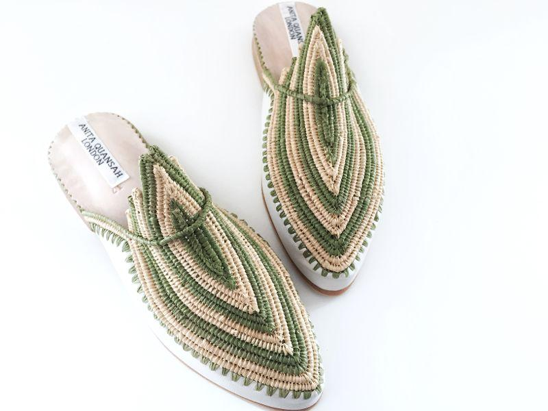 AKILA HANDWOVEN SLIPPERS