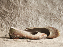 Vintage Gold Glass Slippers