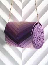 Purple Ombre Clutch