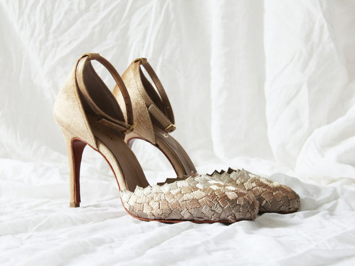 Cascade Stiletto - Beige