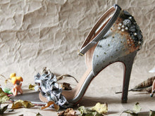 Fallen Leaves Stiletto - Silver