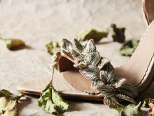 Fallen Leaves Stiletto - Gold