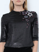 Top With Sequins And embellishments