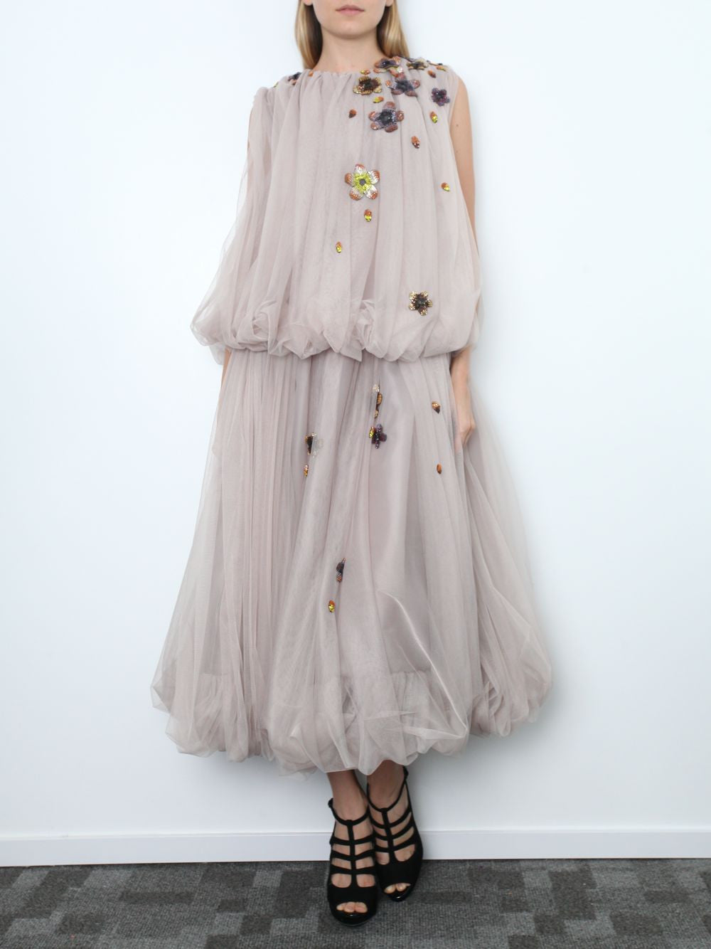 Tulle Dress with embellishments