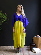 Handwoven Silk-Cotton Caftan