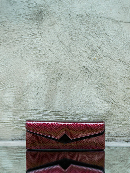 Elongated Mini Box Clutch