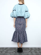 Skirt With Pleated Hem