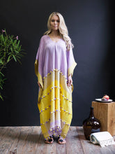 Handwoven Caftan With Tassels