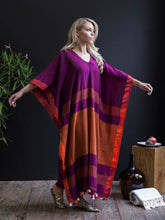Handwoven Cotton Caftan