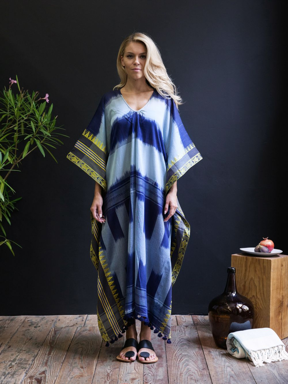 Handwoven Shaded Caftan