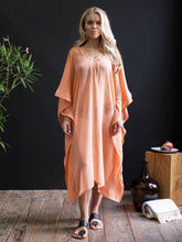 Handwoven Orange Caftan