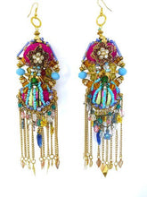 RENATA BEADED STATEMENT EARRINGS