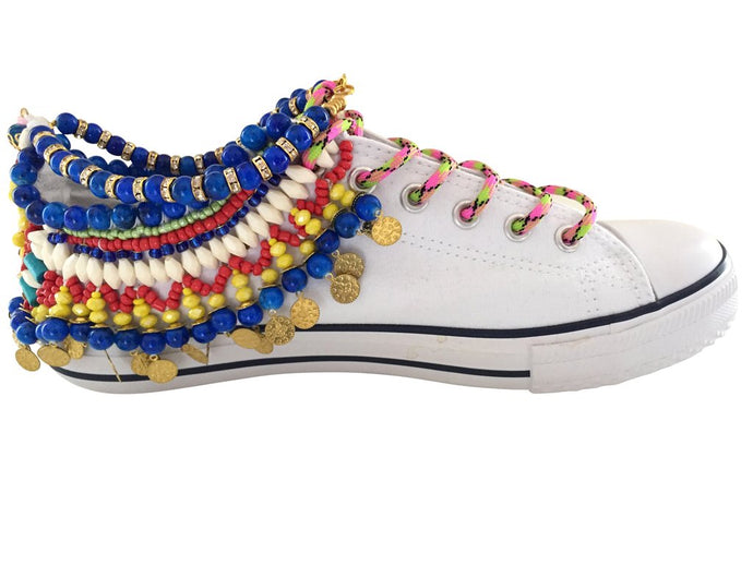 ZADIE EMBELLISHED SNEAKERS