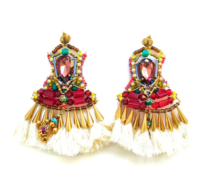 LEONI TASSEL EARRINGS