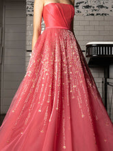 Richly Embellished Gown & Belt