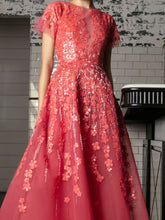 Embellished Asymmetrical Gown